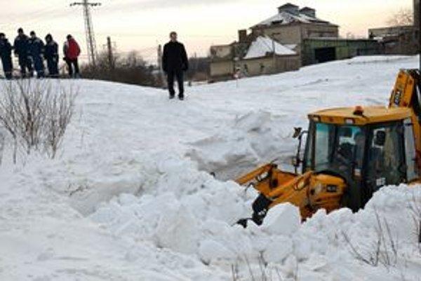 Situácia pri stanici v Bánovciach nad Ondavou.