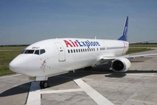 Charterové aerolínie Air Explore lietajú najmä pre zahraničných klientov.