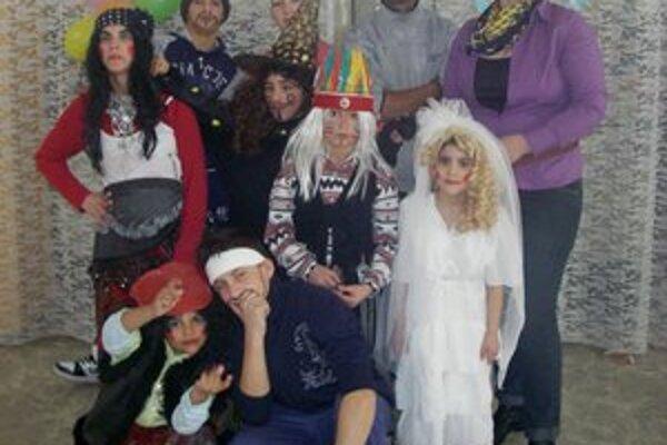Karneval detí z detského domova. Drobci sa vyšantili do sýtosti.