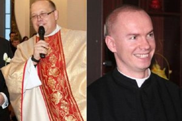 Pallotíni. Otec Peter Lasota a otec Vladimír Peklanský.