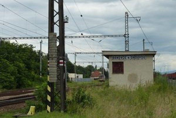 Bánovce nad Ondavou. Vlaky z Veľkých Kapušian tu už nechodia.