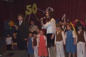 Oslavy jubilea. 50. výročie od založenia ZŠ v Palíne oslávili žiaci bohatým  kultúrnym programom.
