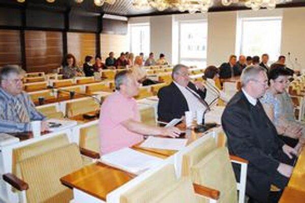 Sninskí poslanci. Každý z nich rozhodol o použití 2 500 eur na dotáciu pre občianske združenia a súbory.