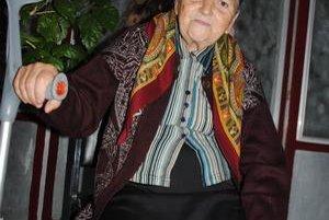 Presídlená. Po černobyľskej tragédii sa presťahovala na Slovensko aj 74-ročná Emília Maludová.