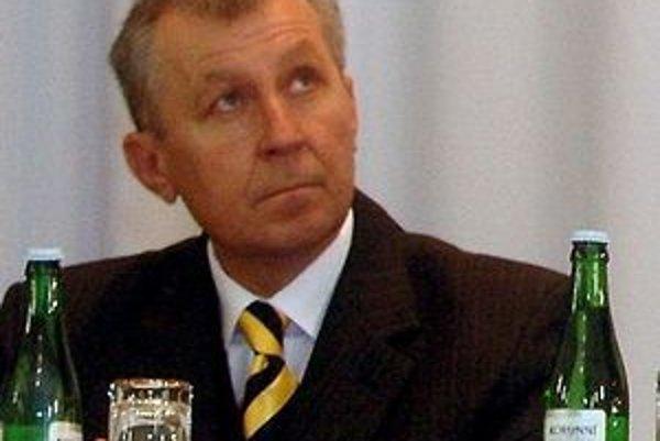 Staronový sobranský primátor Štefan Staško.