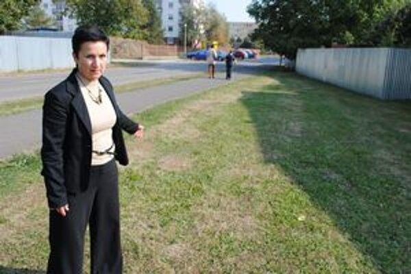 Boj o pozemok. M. Podstavská od mesta očakáva ústretový krok. Foto: mipo