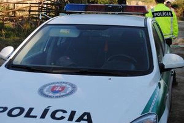 Polícia hľadá zlodeja.