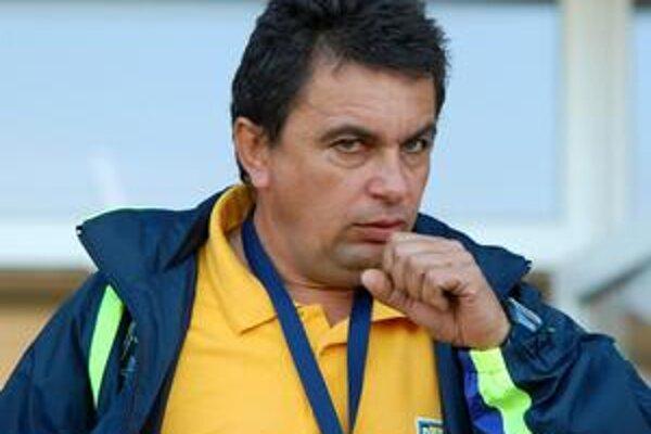 Tréner Vladimír Rusnák ml. vie, že v Brezne budú dnes domáci pod veľkým tlakom.