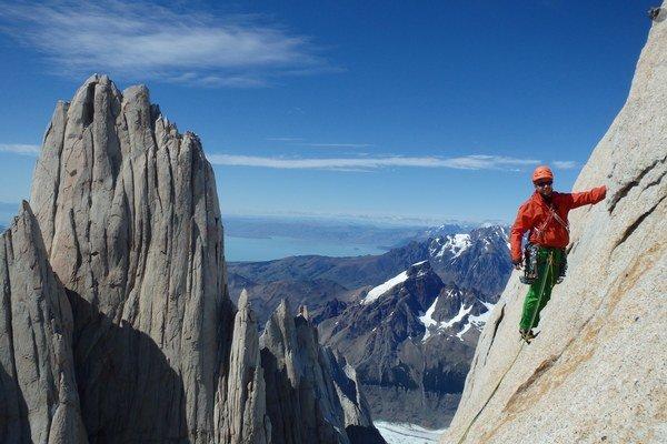 Patagónia. Počasie horolezcom prialo.