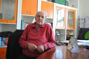Miroslav Blišťan. Oslávil osemdesiatiny.