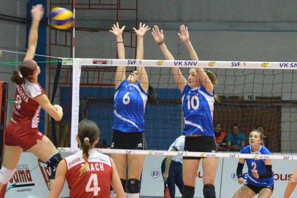 Nadstavba zakončená víťazstvom. Spišiačky v skupine o 1. až 4. miesto v poslednom zápase zdolali Sláviu EU Bratislava 3:2.