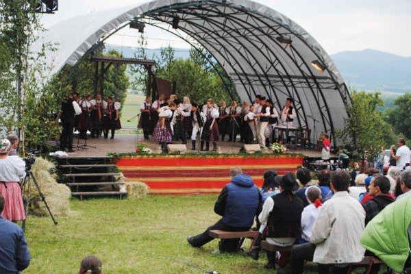 Najväčší folklórny sviatok. Dvojdňový program bol bohatý.