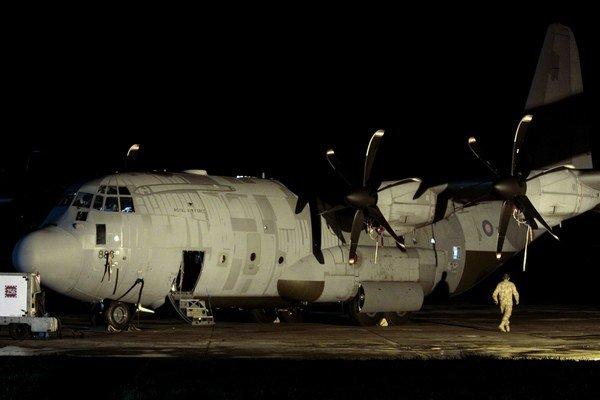 Lietalo, ktoré letelo nad územím Spiša, bol americký Hercules C 130.