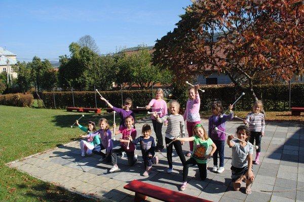 Centrum voľného času. V tomto školskom roku evidujú v Gelnici spolu 278 detí.