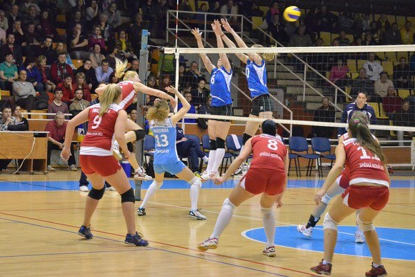 Nepostúpili ďalej. V dvoch zápasoch Spišiačky nestačili na Sláviu EU Bratislava a budú hrať len o piate miesto.