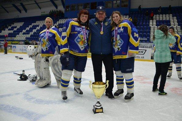 Dlhoročné skúsenosti s hokejom. Nový riaditeľ HK Spišská Nová Ves Miroslav Gavalier je známy hlavne z pôsobenia družstva žien.