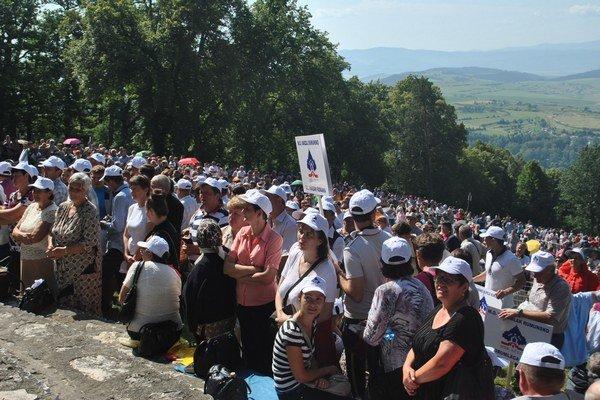 Púť na Mariánskej hore. Ročne sem smerujú kroky stoviek tisícov pútnikov.