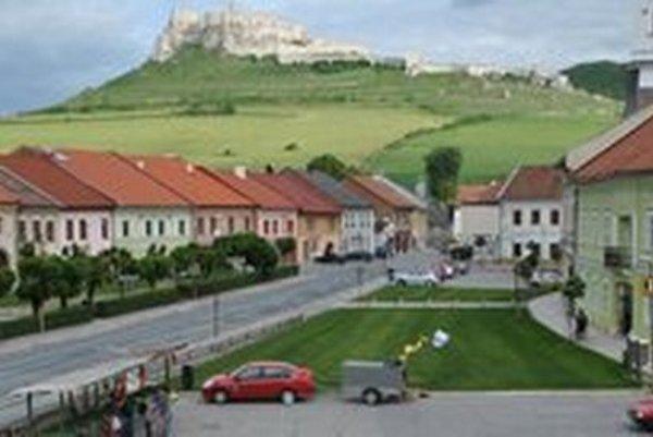 Spišské Podhradie.