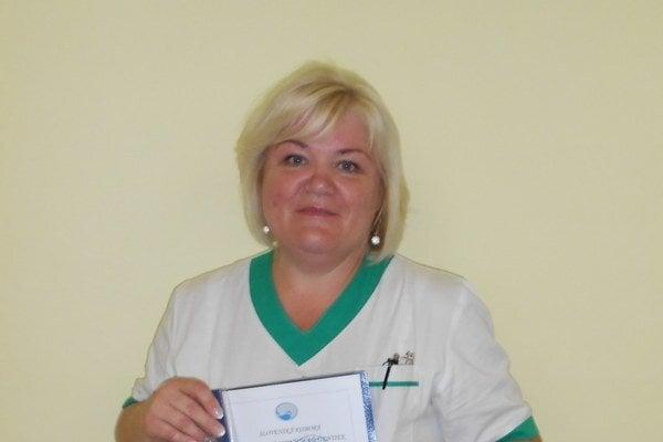 M. Babikova. Práci na gynekológii sa venuje už 32 rokov.