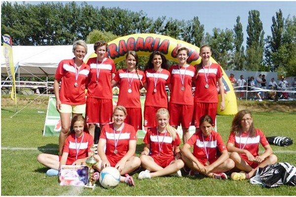Na prestížnom turnaji obsadili Spišiačky druhé miesto.