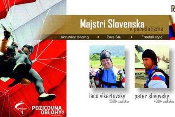 Úspešní Spišiaci. Skvelými výsledkami na majstrovstvách Slovenska sa dvojica Vikartovský – Slivovský nominovali na majstrovstvá sveta v Bosne.