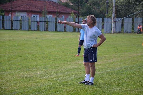 Radek Sasák. Tréner V. Folkmara mal pred súbojom s V. Horešom veľké starosti so zostavou.