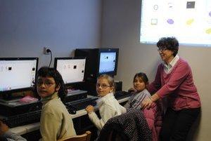 Škola v Závadke je moderne zariadená, jedinou slabinou je nízky počet detí.