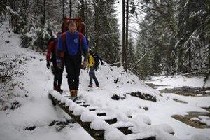 Slovenský raj je čarovný aj v zime.