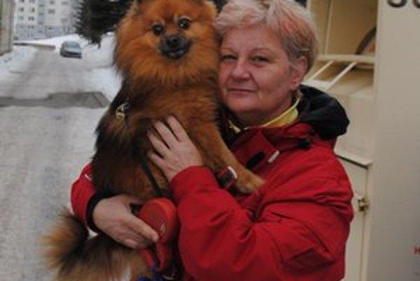 Nadežda Ondrejčáková. Majitelia psov, ktorí platia dane, môžu o službách zo strany mesta zatiaľ len snívať.