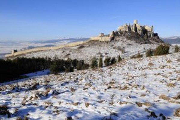 Spišský hrad môžete navštíviť aj počas sviatkov.