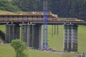 Aktuálny stav mosta.