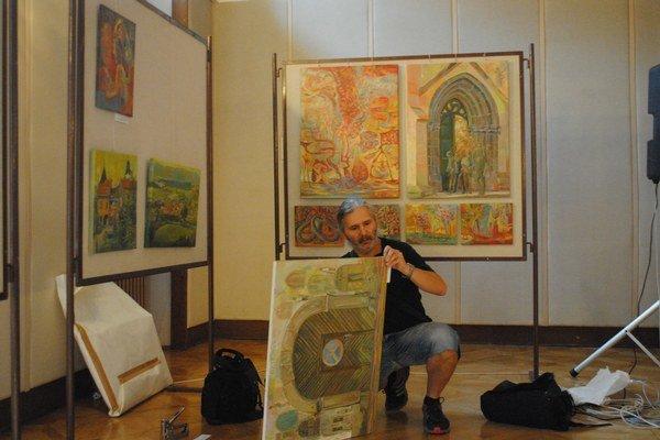 Milan Bandurín. Jeho diela hýrili príjemnými teplými farbami.