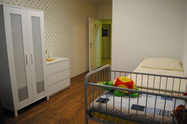 Nadštandardná izba. Spríjemní pobyt malým pacientom a rodičom.