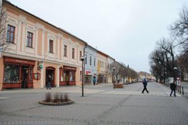 Spišská Nová Ves. Zrekonštruované centrum patrí medzi najkrajšie na Slovensku.