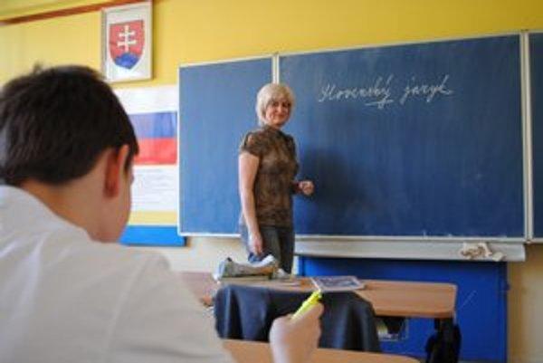 Anna Jahodová. Medzi školákmi je veľmi obľúbená.