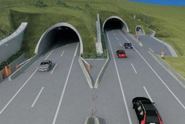 Takto by mal vyzerať nový tunel Šibenik.