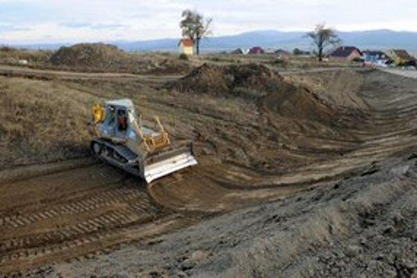 Stavba diaľnice na Spiši pokračuje.