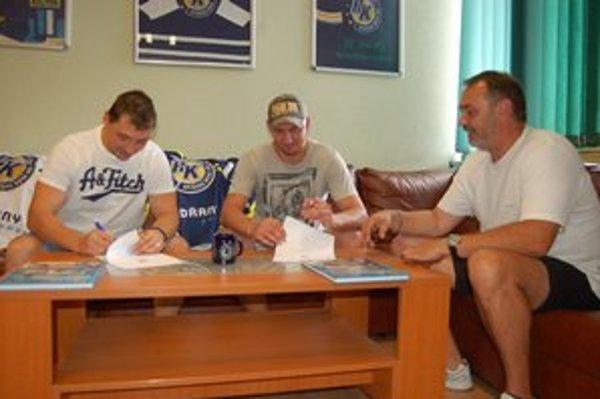 """Veľké posily. Dvojica """"V"""" – Vaic a Vantroba – bude od novej sezóny hrať doma."""