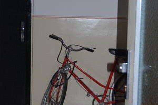Bicykel. Položený len tak na chodbe paneláka sa stáva pre zlodejov lákadlom.Foto: šim