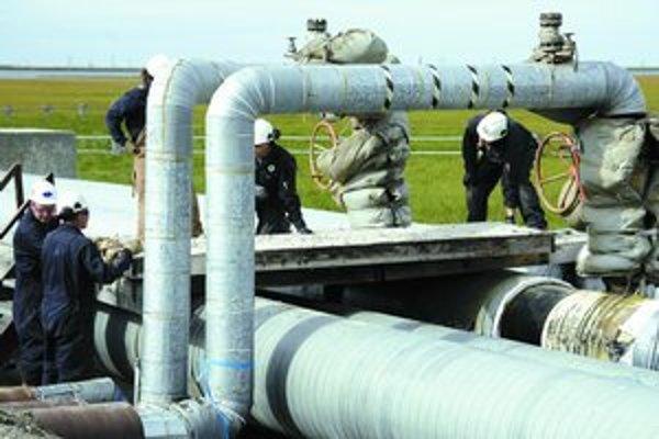 Vláda posunula do parlamentu správu o predaji 49 percent akcií plynární. V nej uvádza argumenty, prečo považuje konečnú cenu 2,7 miliardy korún za nevýhodnú.