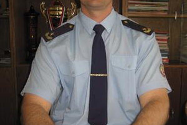 Martin Vozár. Hasičom je od roku 1997.