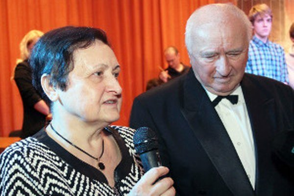 Nechýbal na nej autor knihy Marián Krčík a matka Petra Uhra Mária.