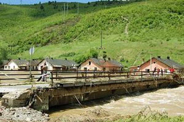 Nepríjemný pohľad  na záplavy. Ostatná povodeň zasiahla väčšinu spišských samospráv. Spôsobila veľké škody.
