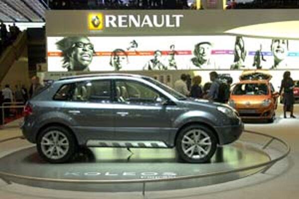 Renault svoj prvý športový model Koleos predstavil už v marci na Ženevskom autosalóne.