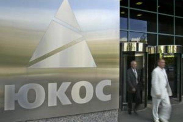 Bývalý ropný koncern Jukos.
