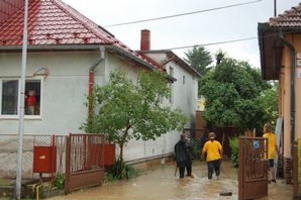 Smižany v júni minulého roka. Najväčšia obec na Slovensku tiež dostane protipovodňový príspevok.