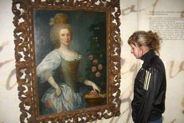 Skutočná Juliana Korponayová. Obraz je súčasťou zbierky Maďarského národného múzea.
