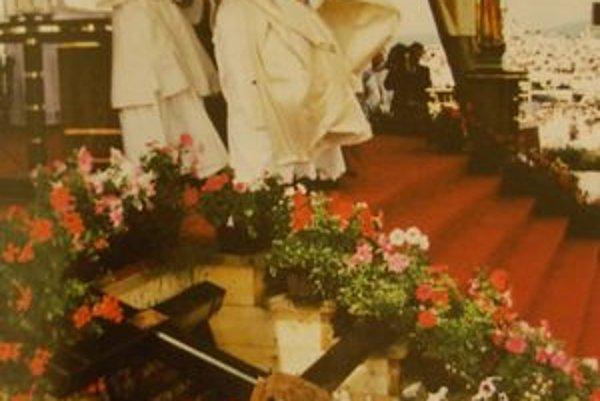 Ján Pavol II. na Mariánskej hore pred 650-tisíc pútnikmi.