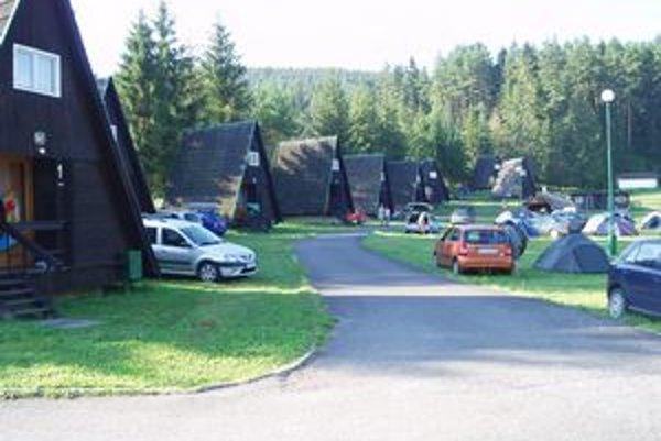 Podlesok je obľúbeným miestom turistov.