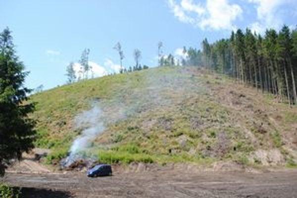 """Havrania dolina. Kvôli ťažbe dreva """"lesáci"""" poškodili zdroj pitnej vody."""